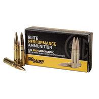 SIG Sauer Elite Performance 300 BLK 125 Grain Supersonic FMJ Rifle Ammo (20)
