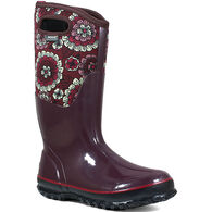 Bogs Women's Classic Pansies Insulated Boot