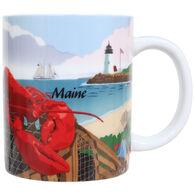 Cape Shore Maine Lobster Harbor Shore Mug
