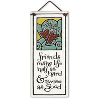 "Spooner Creek ""Good Friends"" Small Talls Tile"