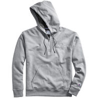 Champion Men's Powerblend Embroidered Logo Quarter-Zip Hoodie