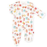 Magnetic Me Infant Boy's Better Together Organic Cotton Magnetic Footie Pajama