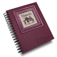 """Journals Unlimited """"Write it Down!"""" Memories Family Journal - Rose"""