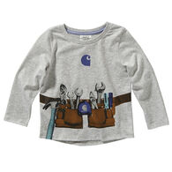 Carhartt Toddler Girl's Graphic Long-Sleeve Shirt