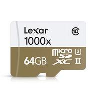 Lexar 64GB High-Performance microSDXC UHS-II Memory Card