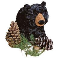 Douglas Company Plush Black Bear - Charcoal