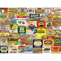 White Mountain Jigsaw Puzzle - Vintage Food & Drink