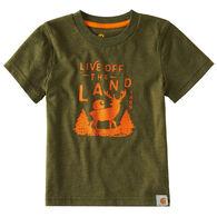 Carhartt Toddler Boy's Live Off The Land Short-Sleeve T-Shirt