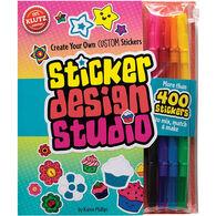 Klutz Sticker Design Studio Craft Kit by Karen Phillips