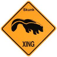 KC Creations Skunk XING Sign