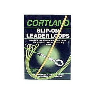 Cortland 30 Lb. Slip-On Leader Loop - 4 Pk.
