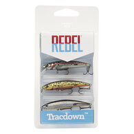 Rebel Tracdown Ghost Minnow Lure - 3 Pk.