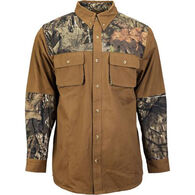 Trail Crest Men's Mossy Oak Carson Shooting Long-Sleeve Shirt