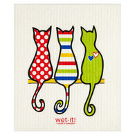 Wet-it! Swedish Cloth - Cat Lover Multi