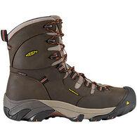 """Keen Men's Detroit 8"""" Mid Waterproof Steel Toe Work Boot"""