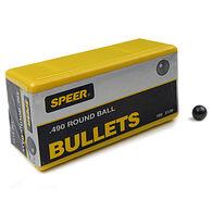 "Speer 0.440"" - 0.535"" Lead Round Ball (100)"