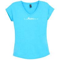 Artforms Women's Sweet Hipster Maine Short-Sleeve T-Shirt