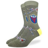 Good Luck Sock Men's Supermarine Spitfire Crew Sock