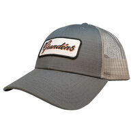 b6fa62a7870 Grundens Men's Script Grundens Trucker Hat
