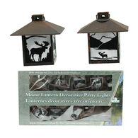 Wilcor Moose Lantern Decorative Party Light Set