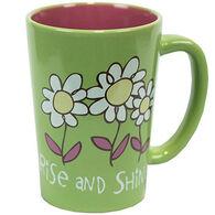 Lazy One Rise And Shine Flower Mug