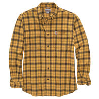 Carhartt Men's Rugged Flex Relaxed Fit Flannel Plaid Long-Sleeve Shirt