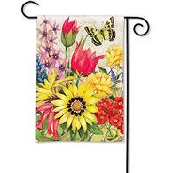 BreezeArt Botanical Garden Garden Flag