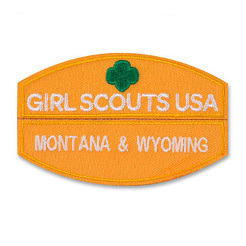 Girl Scouts Daisy Council Identification Strip Set
