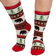 Lazy One Women's Bear Essentials Crew Sock