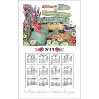 Kay Dee Designs 2019 Garden Signs Calendar Towel