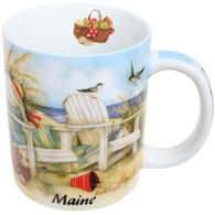 Cape Shore Maine Beach Chairs Shore Mug