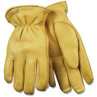 Kinco Men's Lined Grain Deerskin Glove
