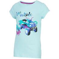 Carhartt Girls' Live Outside Short-Sleeve T-Shirt