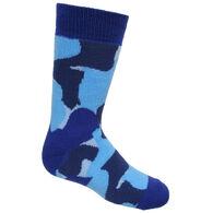 Cameo Youth Camo Thermal Heat Sock