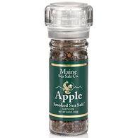 Maine Sea Salt Apple Smoked Salt Refillable Grinder - 3.6 oz.