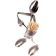 Forked Up Art Toothpick Holder - Spoon