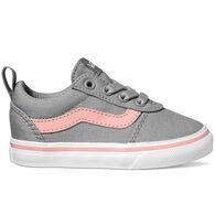 Vans Toddler Girls' Ward Z Canvas Slip-On Shoe