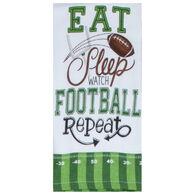 Kay Dee Designs Football Watch Football Dual Purpose Terry Towel