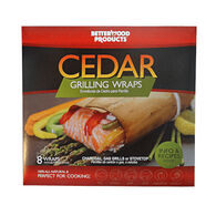 BetterWood Products Cedar Grilling Wrap - 8 Pk.