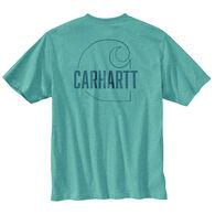 Carhartt Men's Loose Fit Heavyweight Carhartt C Graphic Short-Sleeve T-Shirt