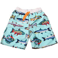 Wes & Willy Boys' Freshwater Fish Swim Trunk