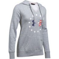 Under Armour Women's UA Freedom Logo Favorite Fleece Hoodie