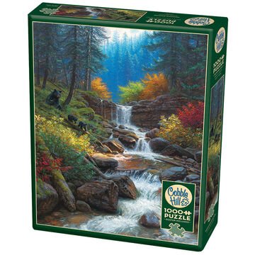 Outset Media Jigsaw Puzzle - Mountain Cascade