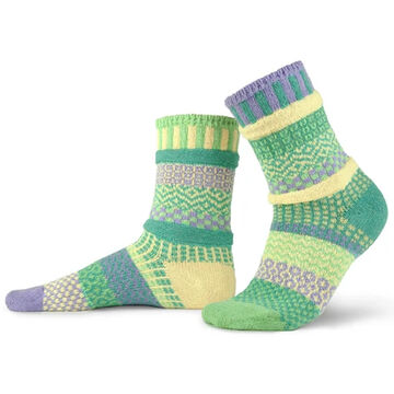 Solmate Socks Womens Chickadee Crew Sock