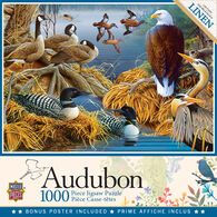 Leanin' Tree Jigsaw Puzzle - Audubon Lake Life