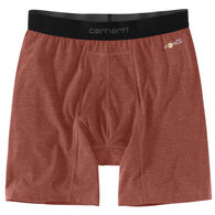 "Carhartt Men's Base Force 8"" Premium Boxer Brief"