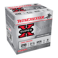 "Winchester Super-X High Brass 28 GA 2-3/4"" 1 oz. #8 Shotshell Ammo (25)"