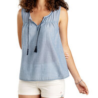 Toad&Co Women's Airbrush Popover Tank Top