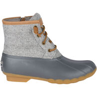 Sperry Women's Saltwater Wool Embossed Insulated Duck Boot