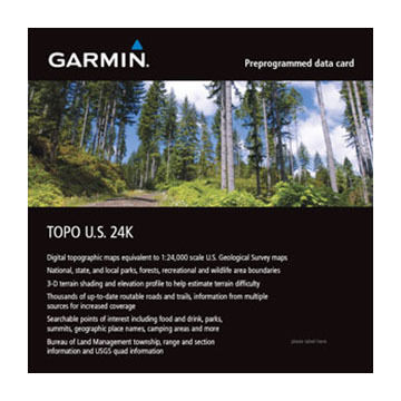 Garmin TOPO U.S. 24K Northeast microSD / SD Card - 2016 Model